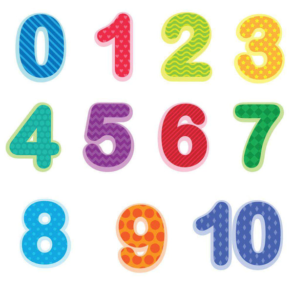 Preschool Number Wall Decals 0 10 Baby And Toddler Number