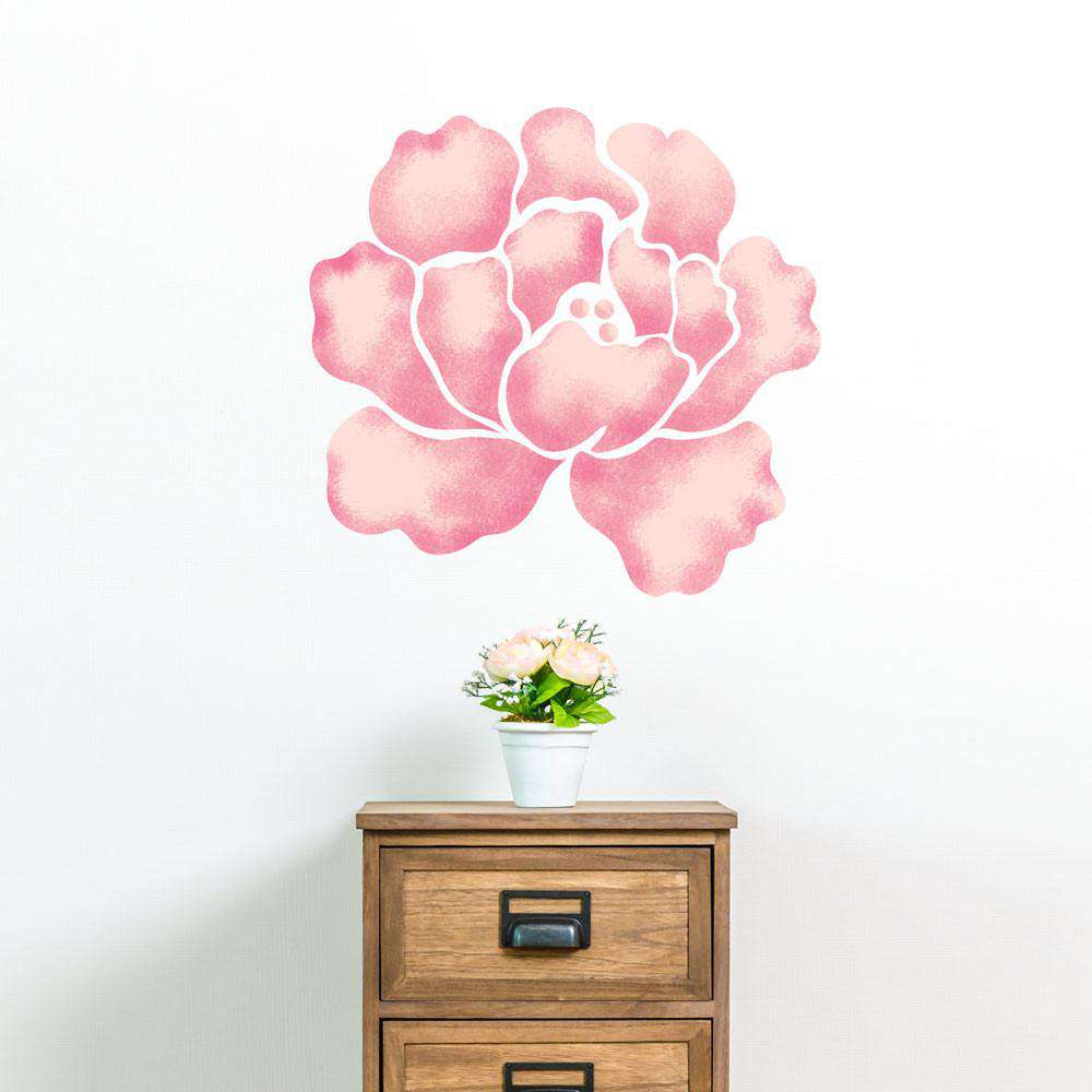 Rose Wall Painting