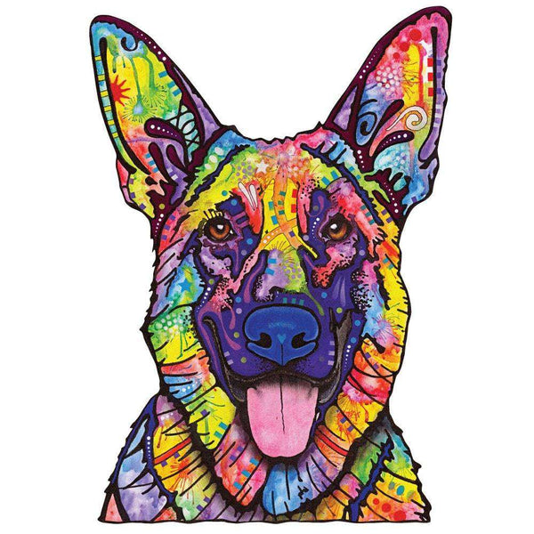 Dogs Never Lie German Shepherd Wall Decal Cut Out