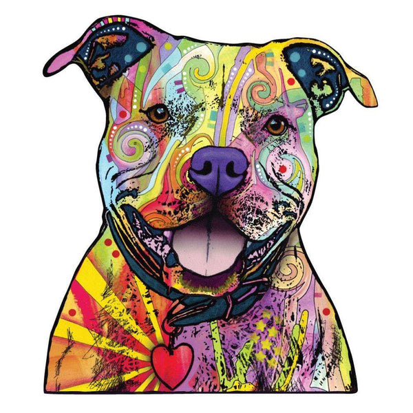 Pitbull Art Paintings