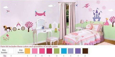 Perfectly Princess Stencil Paint Kit