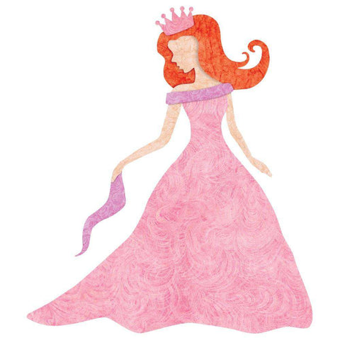 Princess Wall Sticker (Fair/Red Hair)