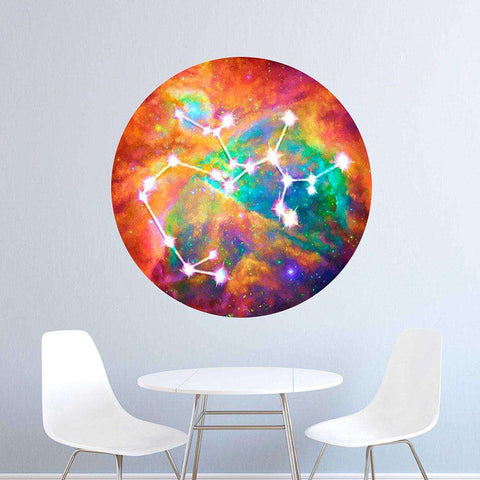 SAGITTARIUS Sun Sign Wall Decal Zodiac Horoscope Astrology Symbol