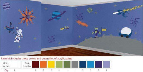 Outrageous Space Stencil Paint Kit