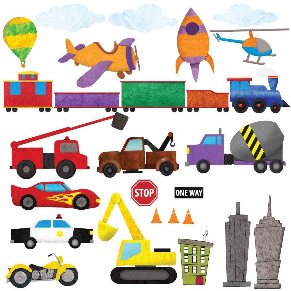 Train car airplane construction truck and city wall stickers train car airplane construction truck and city wall stickers peel amipublicfo Gallery