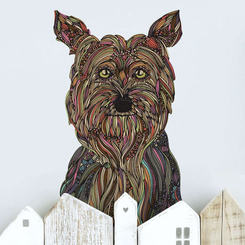 Yorkshire Terrier Yorkie Decal -Trixie by Valentina Harper