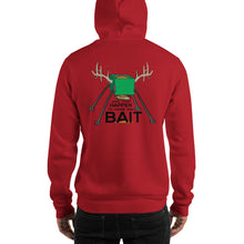 "Load image into Gallery viewer, ""Good Things Happen to Those Who Bait"" Hooded Sweatshirt"