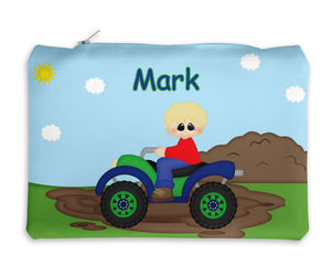 ATV 4-Wheeler Boy Kids Pencil Case