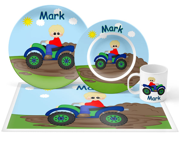 ATV 4-Wheeler Boy Kids Bowl