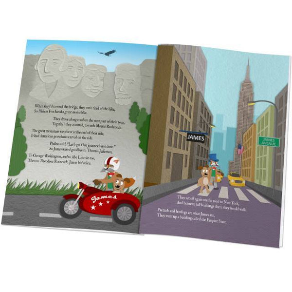 Personalized Around the World Story Book