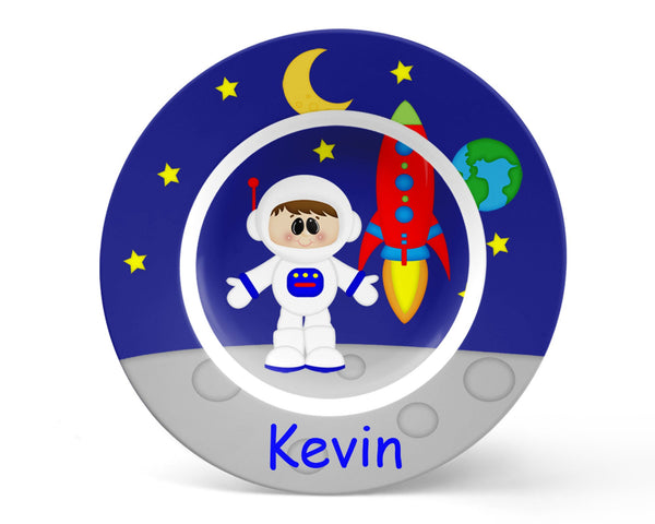 Space Astronaut Boy Kids Bowl