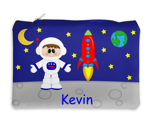 Space Astronaut Boy Kids Pencil Case
