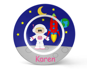 Space Astronaut Girl Kids Bowl
