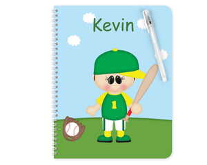 Baseball Boy Kids Notebook