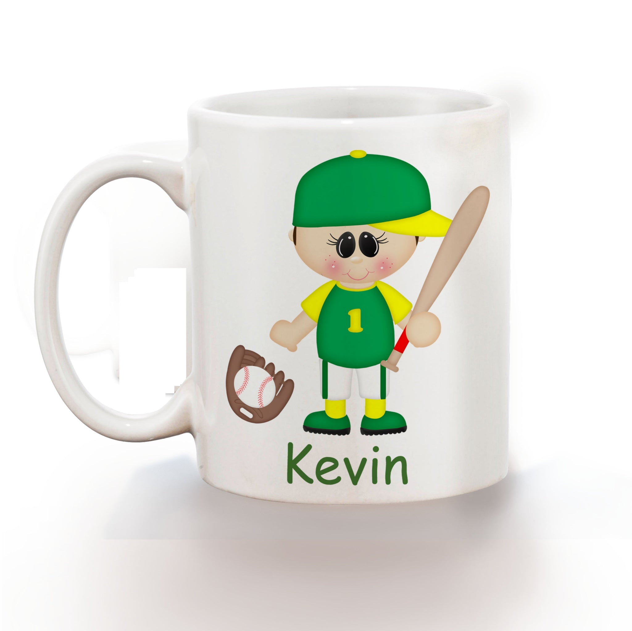 Baseball Boy Kids Mug