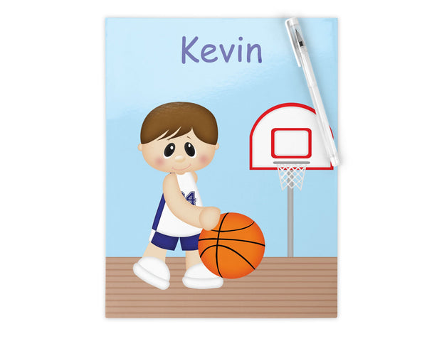 Basketball Boy Kids Folder