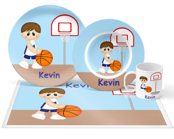 Basketball Boy Kids Mug