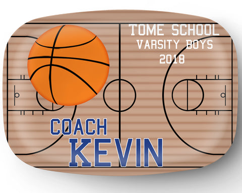 Basketball Personalized Platter