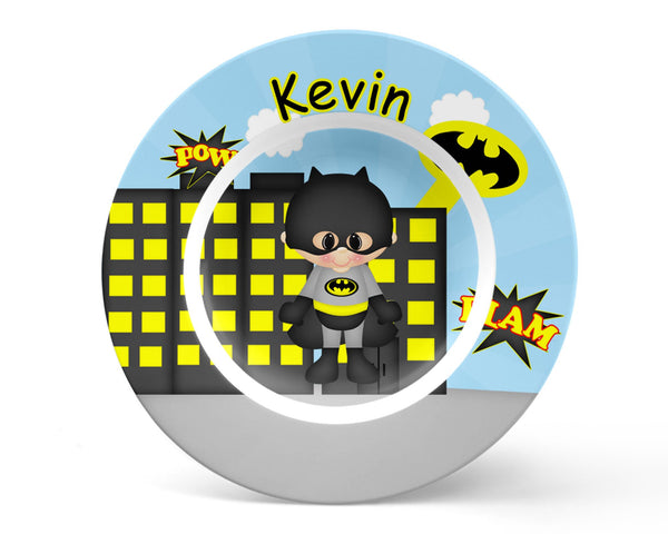 Batman Superhero Kids Placemat