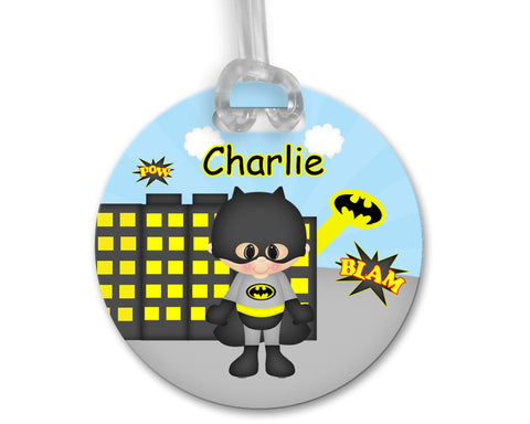 Batman Superhero Bag Tag