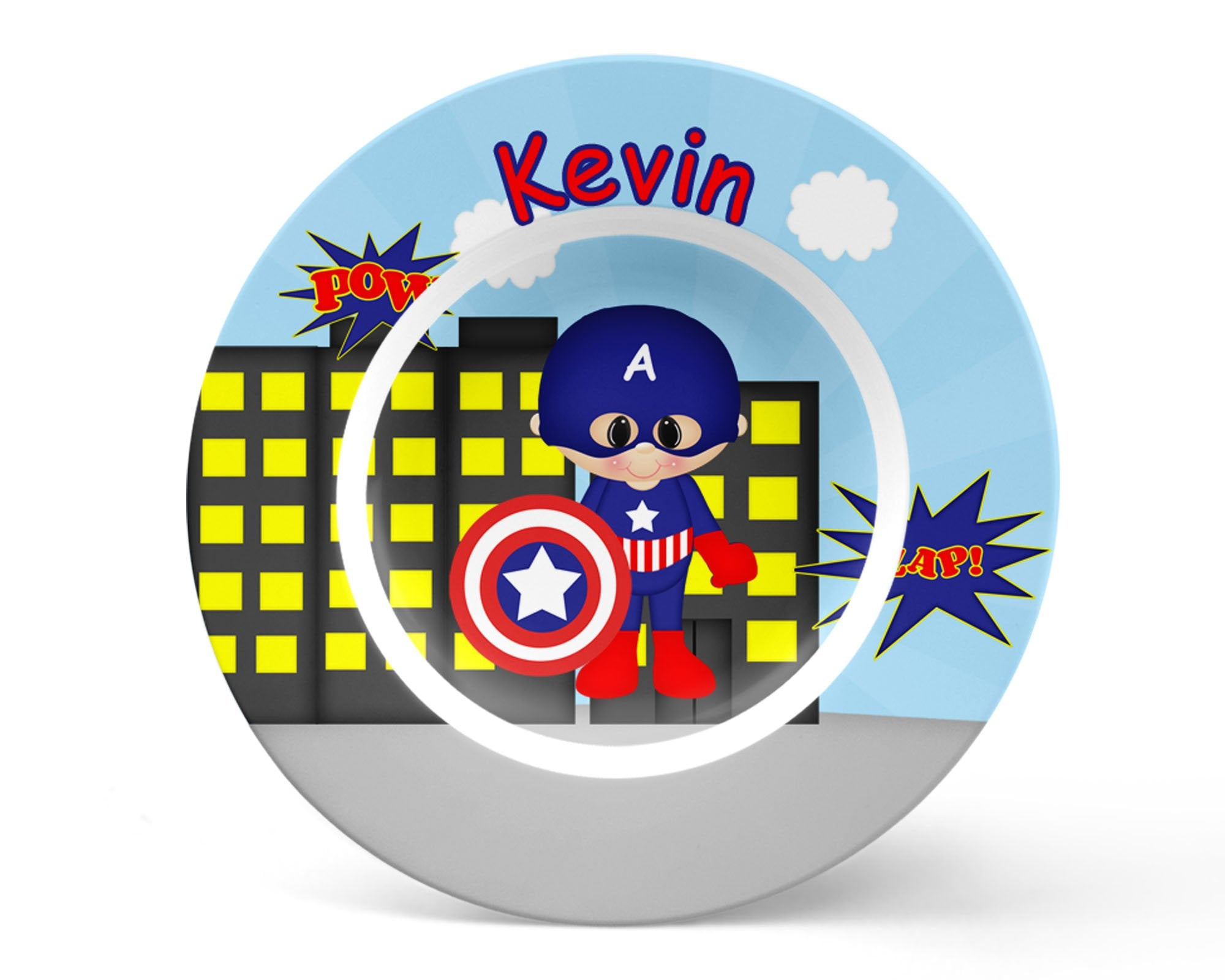 Captain America Superhero Kids Bowl