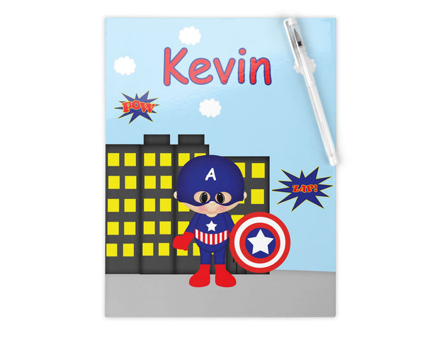 Captain America Superhero Kids Pencil Case