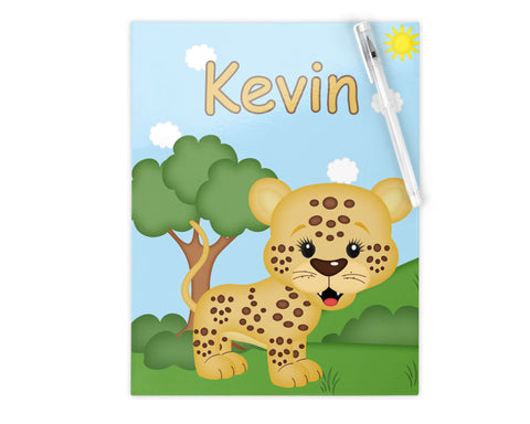 At the Zoo Cheetah Kids Folder