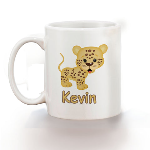 At the Zoo Cheetah Kids Mug