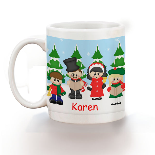 Christmas Carolers Kids Mug
