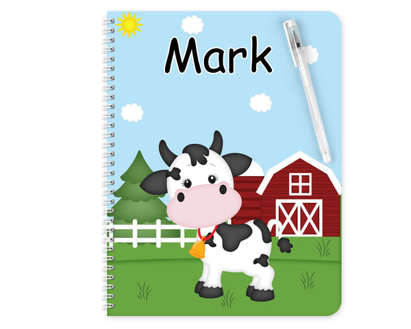 On the Farm Cow Kids Folder