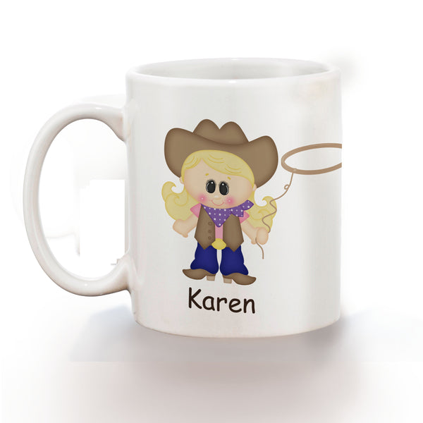 Cowgirl Kids Mug