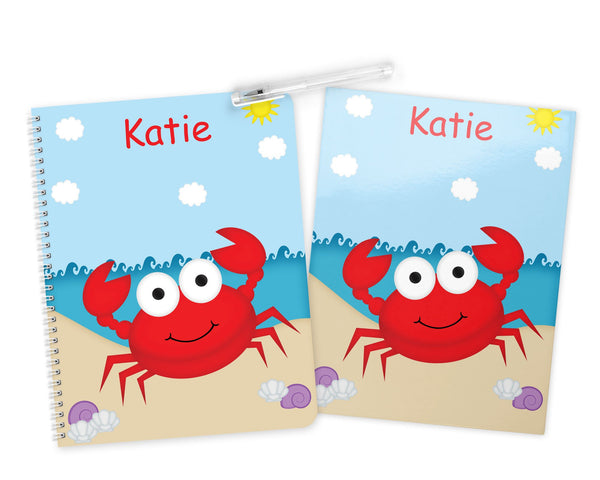 Cute Crab Kids Folder