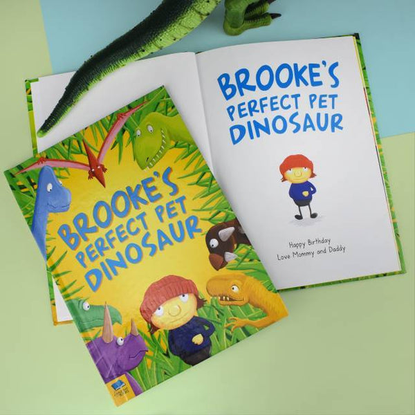 Personalized Pet Dinosaur Book