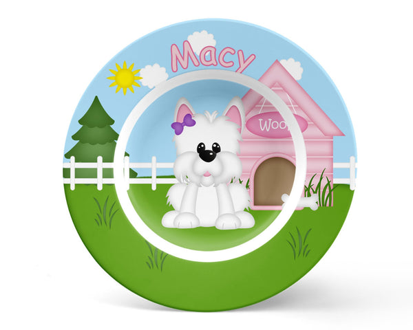 Dog House Pink Kids Placemat