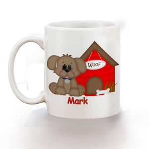Dog House Red Kids Mug