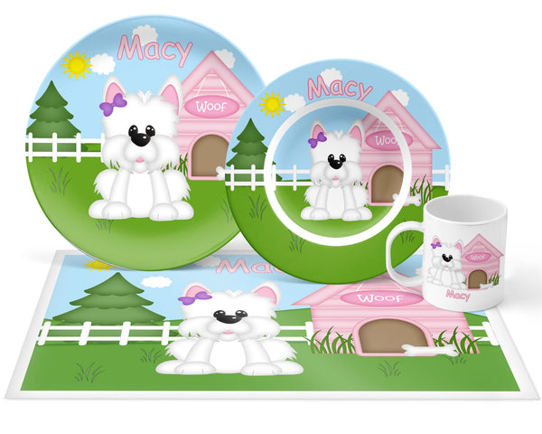 Dog House Pink Kids Mug