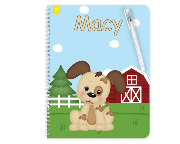 On the Farm Dog Kids Pencil Case