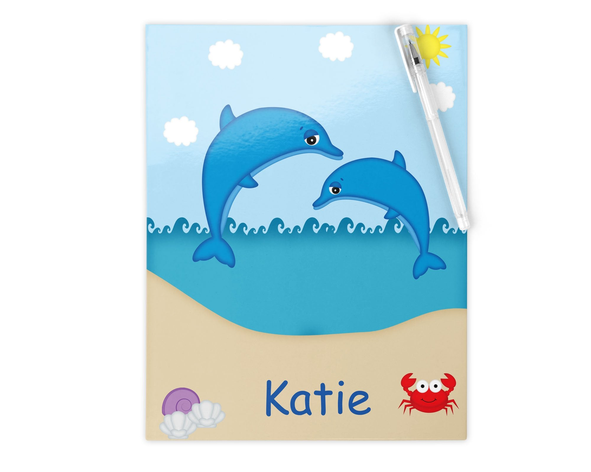 Diving Dolphins Kids Folder