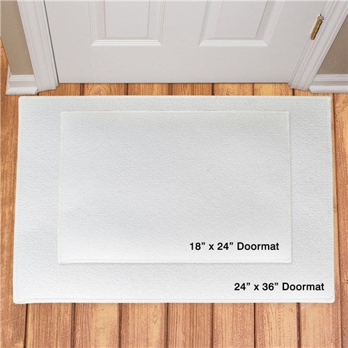 Boo To You Personalized Doormat
