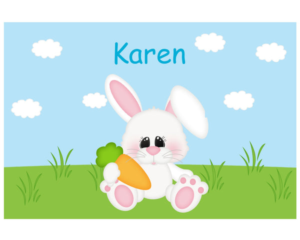 Easter Bunny Kids Placemat
