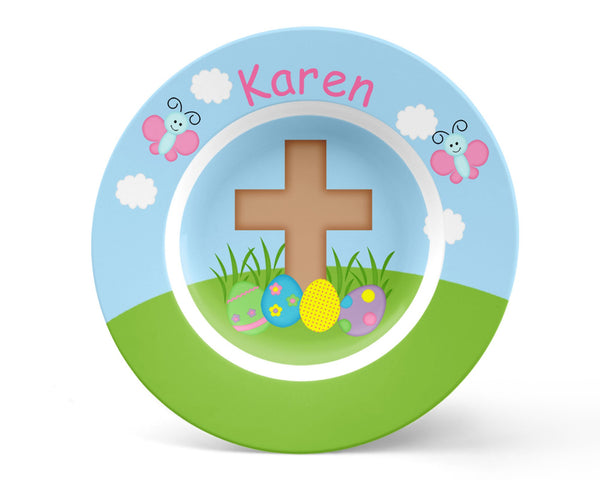 Easter Cross Kids Placemat