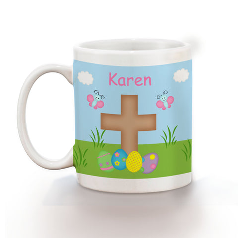 Easter Cross Kids Mug