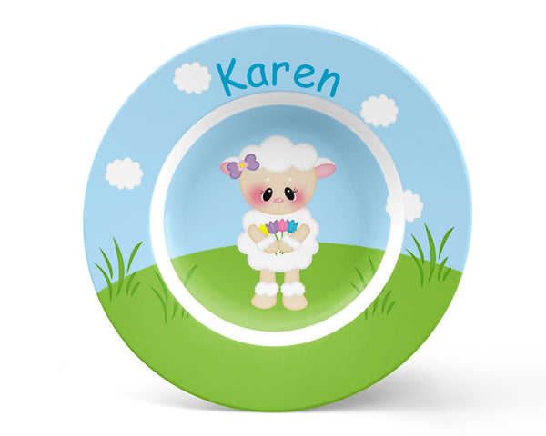 Easter Lamb Kids Bowl