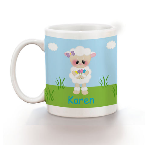 Easter Lamb Kids Mug