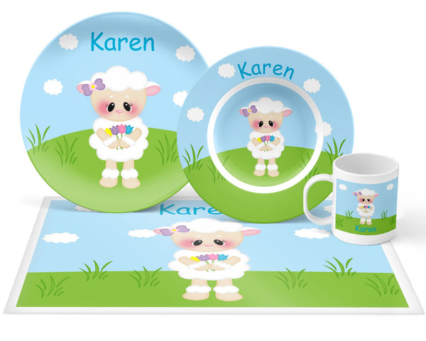 Easter Lamb Kids Placemat