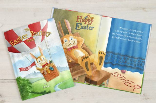 Personalized The Easter Bunny Story Book