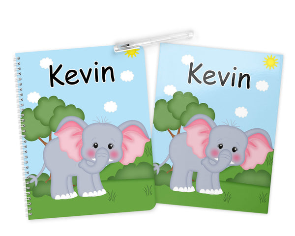 At the Zoo Elephant Kids Notebook