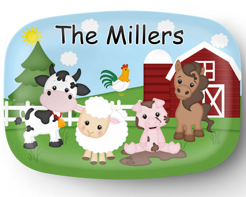 Farm Personalized Platter