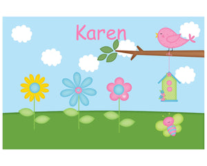 Flowers Kids Placemat