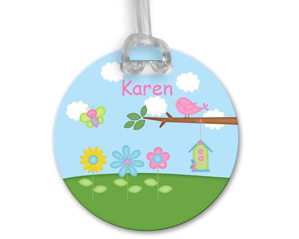 Flowers Bag Tag